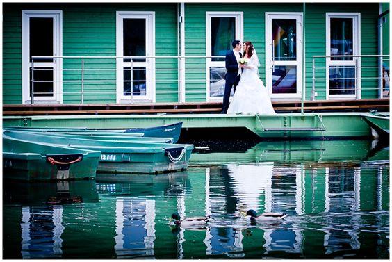 Hochzeit nah am Wasser ;-)
