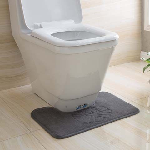 馬桶地墊u型墊衛生間腳墊浴室吸水廁所防滑墊門墊套裝 快速出貨 促銷沖