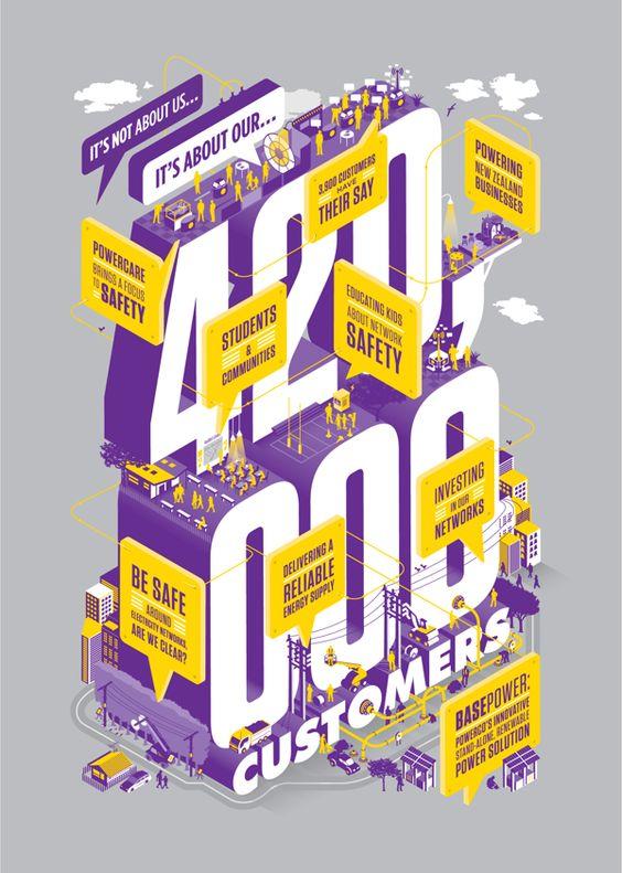 PowerCo AR cover 2013 by Walter Hansen 심플한 벡터를 여러 dimensions 으로 표현하여 깔끔하면서도 독창성이 돋보이는 아트워크네요.