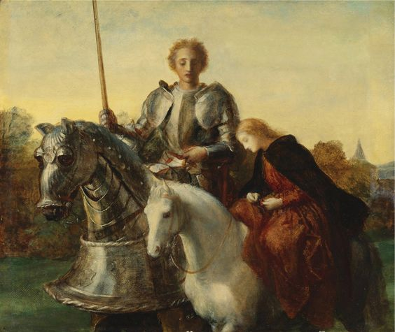 George Frederick Watts (1817-1904)Una and the Red Cross Knight