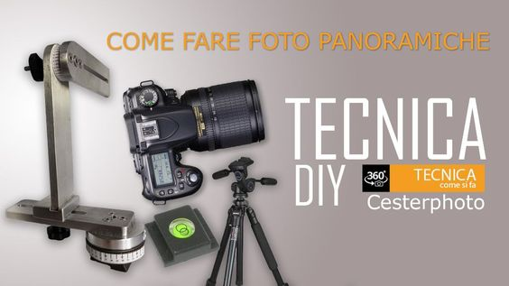 Breve guida per imparare la tecnica delle foto panoramiche a 360°