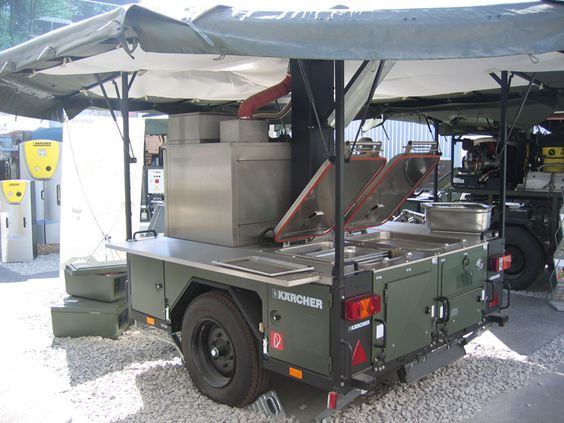 army Teardrop Trailer | Hitch Kitchen is a complete ...