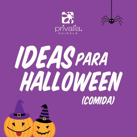 Dale a tus invitados snacks divertidos y llenos de terror.  #halloween #snacks #food #party