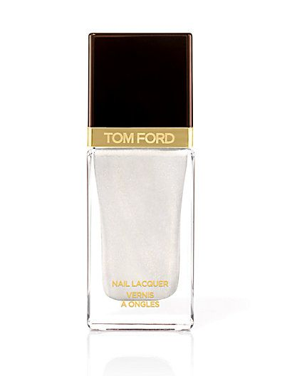 Tom Ford white nail lacquer #mothersday