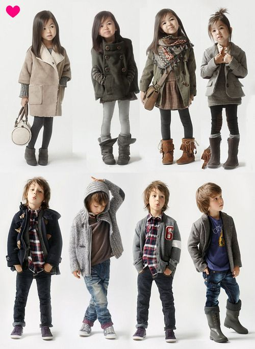 I love everything the little girl is wearing!