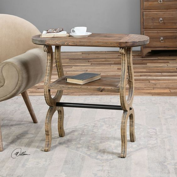 Sariah Wood Accent Table