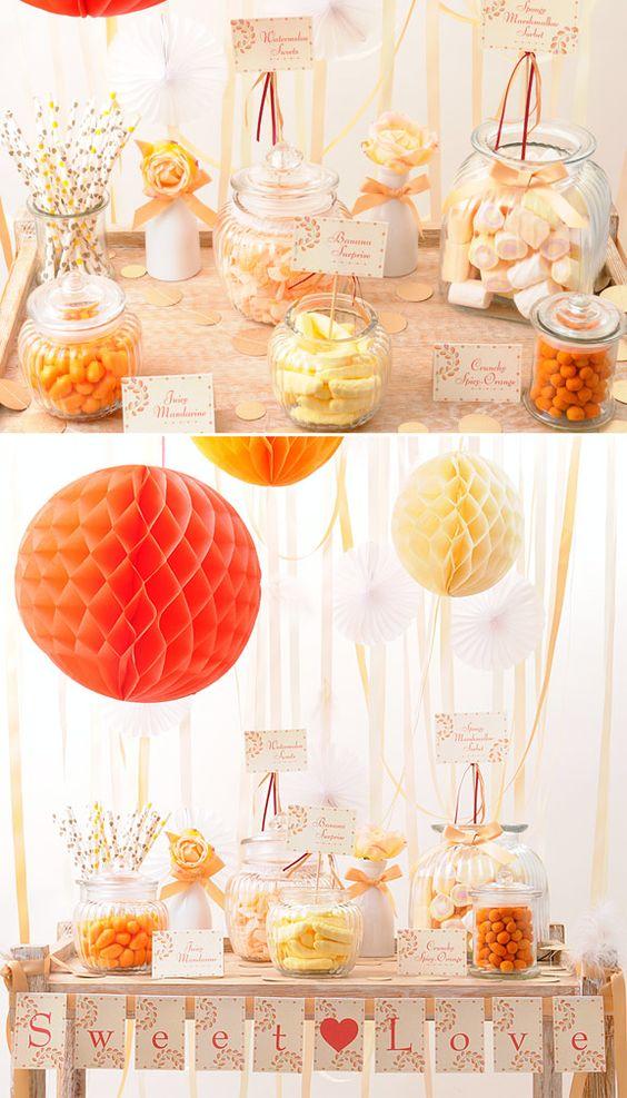 Como hacer una candy bar para vuestra boda sweet tables - Como hacer una boda diferente ...