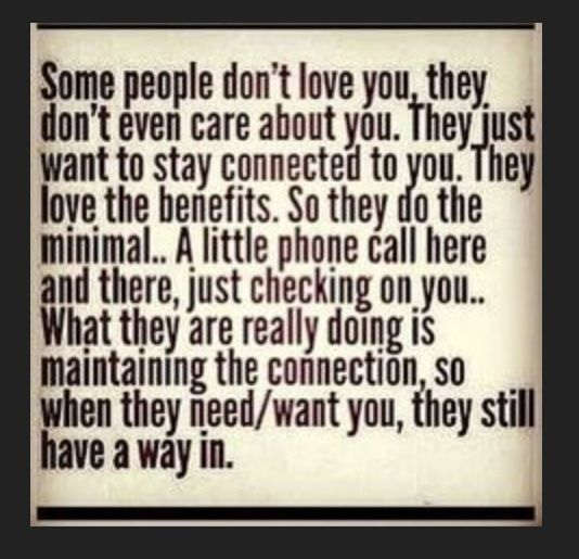 Sad but true.  Just always be the bigger person, do the right thing & eventually let go & live your life for you.