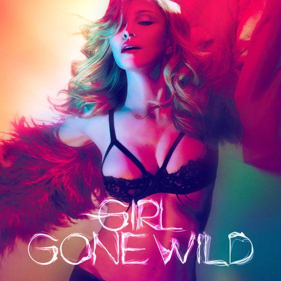 Madonna – Girl Gone Wild (single cover art)