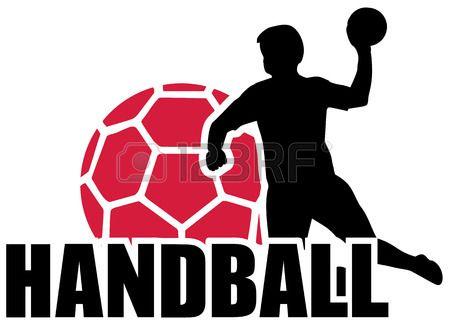 Balonmano Set Silueta Bola Ilustraciones Vectoriales, Clip Art Vectorizado Libre De Derechos. Image 40896328.