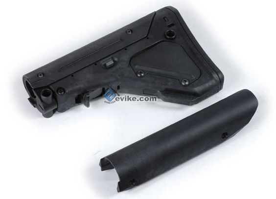 Evike.com Airsoft Guns - External Parts | Evike.com Airsoft Guns - Stocks | Evike.com Airsoft Guns - M4 / M16 Ret. Stocks | Evike.com Airsoft Guns - Magpul PTS Licensed UBR (Utility Battle Rifle) Stock For M4 / M16 Series Airsoft AEG (Black) |