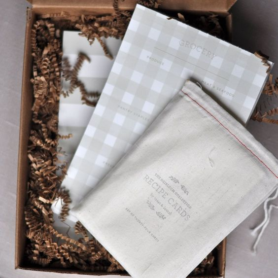 Heirloom Collection Recipe Cards Set