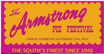 Armstrong Pie Festival | Linden TN