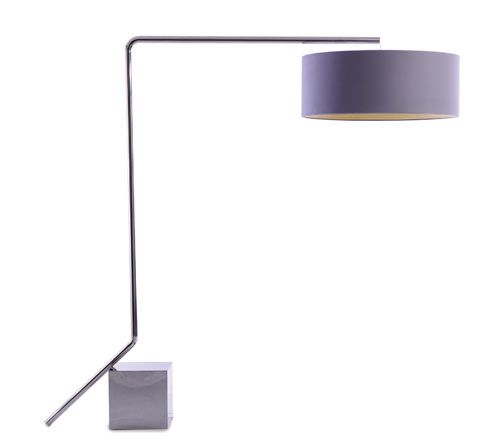 Lean On Me Standing Lamp was designed by Adam Court for OKHA Interiors.