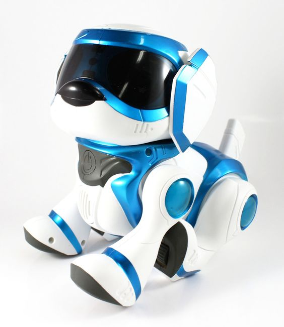 Blue Tekno Puppy Robotic Dog