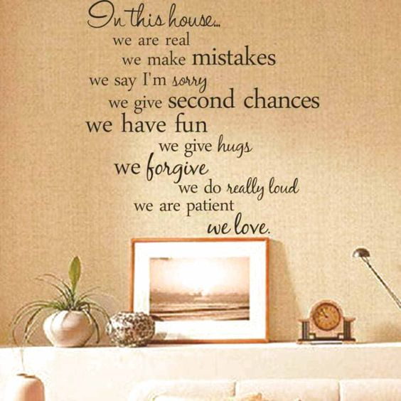 Removable Decal Art Mural Home Room Decor Quote Wall Sticker