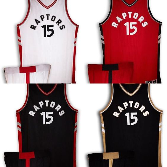 Raptors unveil new jerseys for 2015-16 season. @nbacanada @torontoraptors