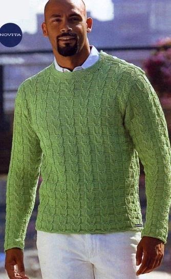 Журналы по вязанию с мужскими свитерами