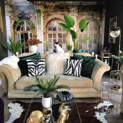 Embracing The Wreck And Ruin Living Room Revamp Tropical Decor