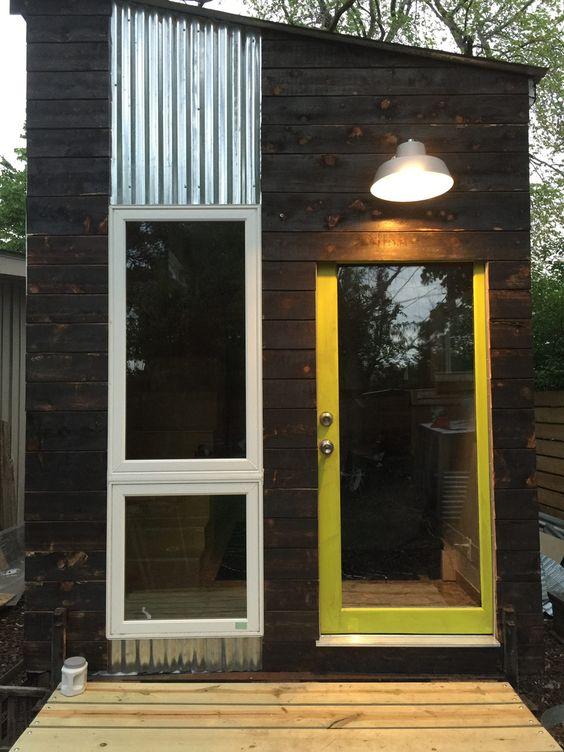 Minim Tiny House A Tiny House Cabin Shed Tiny House Design Tiny House