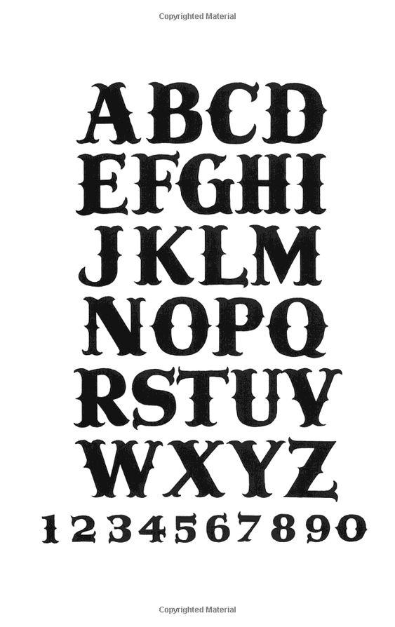Book of Sixty Hand-Lettered Alphabets: J. I. Biegeleisen: 9780911380408: Amazon.com: Books
