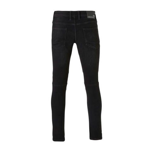 C&A Angelo Litrico slim fit broek zwart Broeken, Fit en Zwart