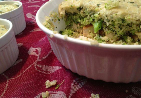 Chicken, Broccoli, Quinoa Casserole