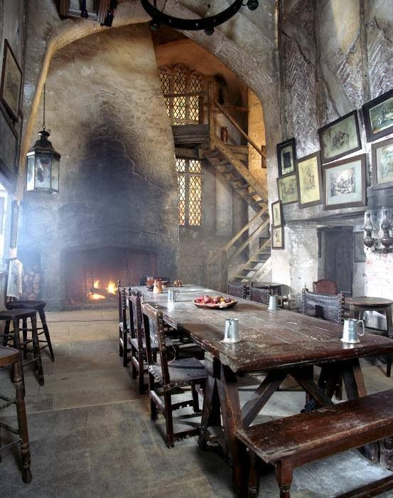 Medieval Design Inspiration:  inspired by the Middle Period of European history (5th to 15th century).  This dramatic look reflects the stone castles and wooden dining halls of this era.: