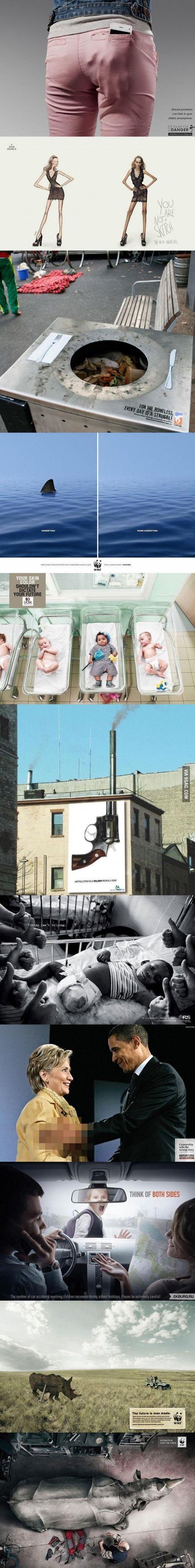 11 Brilliant Advertisements. Calgary marketing agency www.arcreactions.com