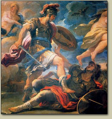 aeneid and hector Similarities of the iliad and books  achilles' dear friend patroclus died at the hand of hector which caused achilles to  in the aeneid,.