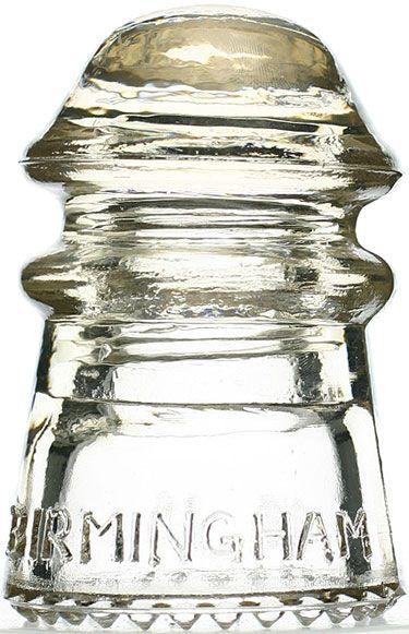 Glass Insulator CD 106 - Birmingham No