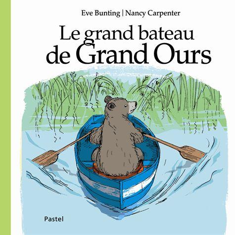 Un adorable album pour devenir grand. Très belle découverte! http://parfumsdelivres.blogspot.fr/2014/11/le-grand-bateau-de-grand-ours-deve.html