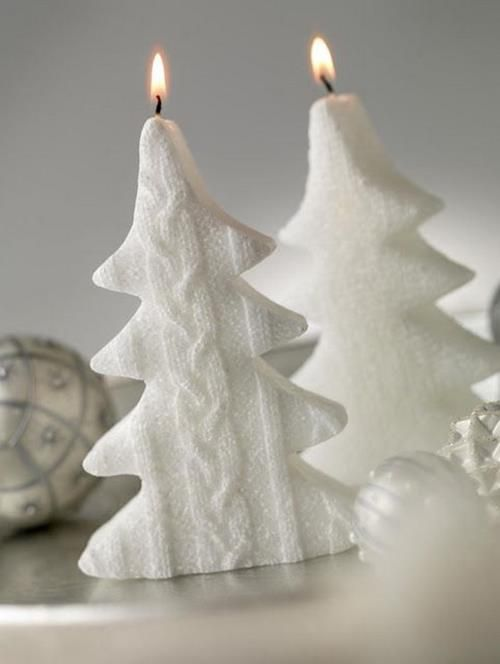 Holiday Decorating Ideas with Christmas Tree Candles - 13 - Pelfind