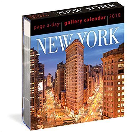PDF DOWNLOAD] New York Page-A-Day Gallery Calendar 2019 Free Epub