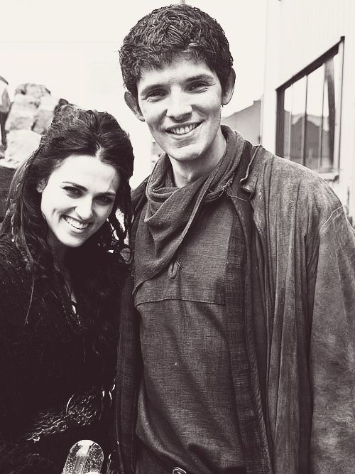 Katie Mcgrath Amp Colin Morgan Cant Handle That They Are