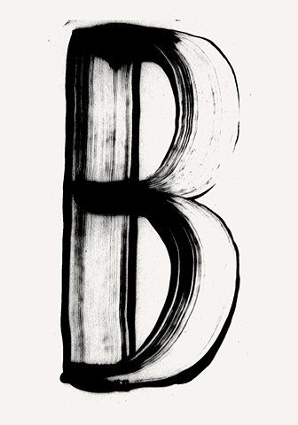 B, my favorite letter.