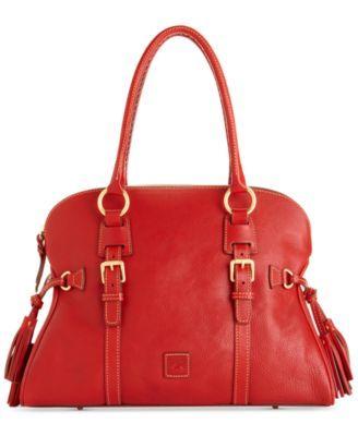 Dooney & Bourke Florentine Domed Buckle Satchel - Handbags & Accessories - Macy's