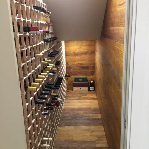 Cellar Creations Oak Modular Wine Racks Wine Rack Oak Wine Rack