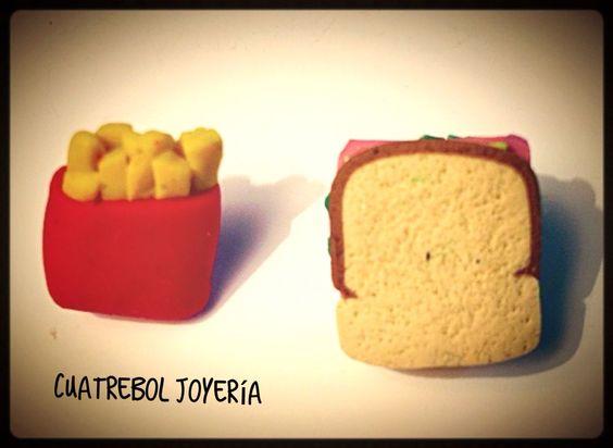 Sandwich y Patatas