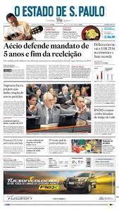 Resultado de imagem para jornal estadão