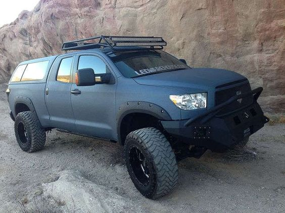 Pickup owners spray the whole truck with bedliner plastic someday