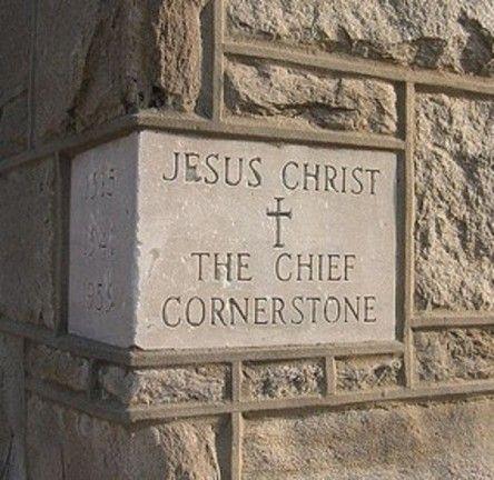 Jesus Christ - the chief cornerstone