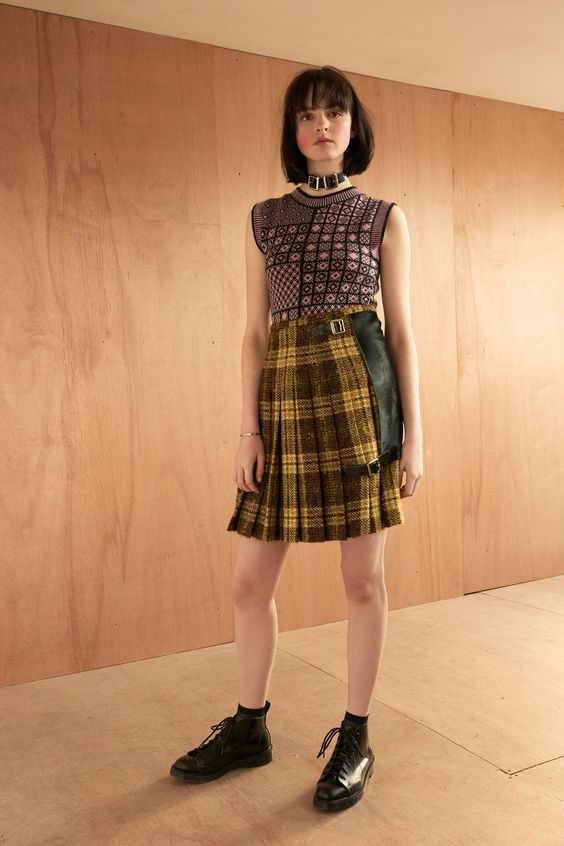 Le Kilt Fall 2016 Ready-to-Wear Fashion Show   http://www.theclosetfeminist.ca/  http://www.vogue.com/fashion-shows/fall-2016-ready-to-wear/le-kilt/slideshow/collection#5