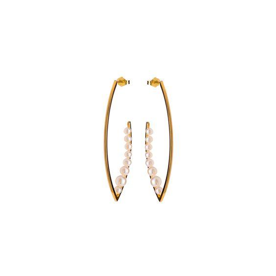 Pearl Earrings | Nina Kastens Jewellery | Wolf & Badger