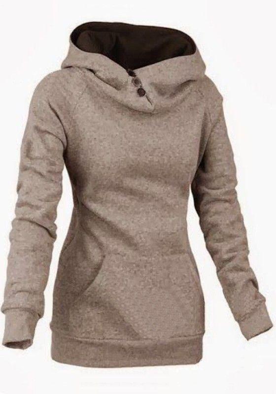 Khaki Hoodie Womens | Fashion Ql