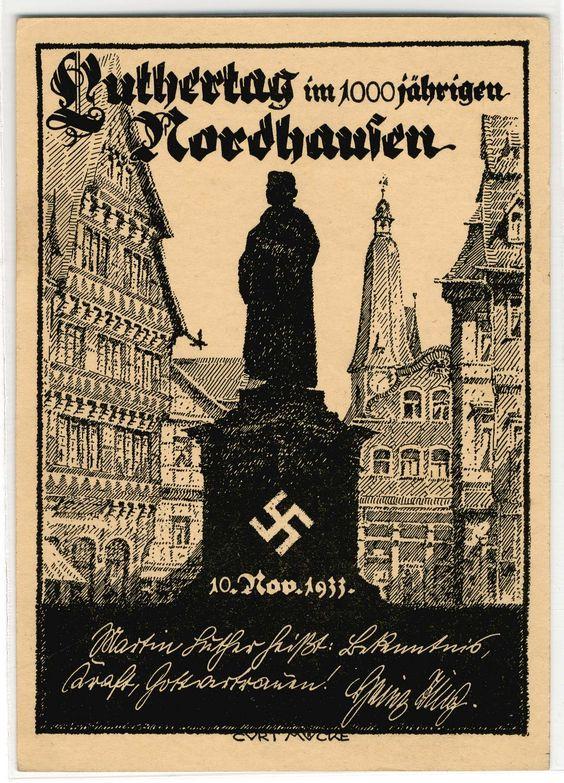 NORDHAUSEN - LUTHERTAG 1933,