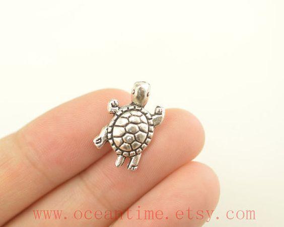 turtle Tragus Earring Jewelry turtle barbell piercing by OceanTime, $4.99