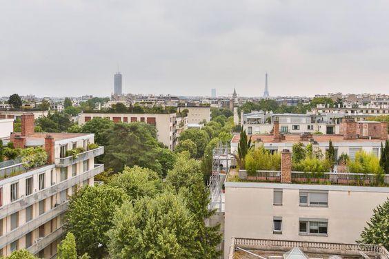 Vue sur Paris depuis Neuilly sur Seine