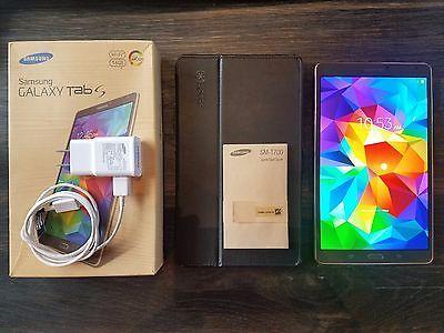 Samsung Galaxy Tab S SM-T700 16GB Wi-Fi 8.4in - Titanium Bronze (Latest Model) https://t.co/iAsUOelUNk https://t.co/XfWORZCJue