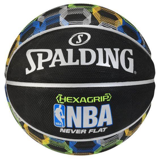 Spalding NBA HexaGrip 29.5 Never Flat Basketball